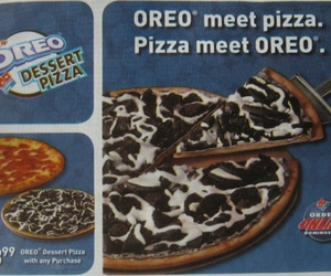 oreo and pizza image