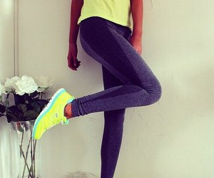 fitness, workout, and nike image