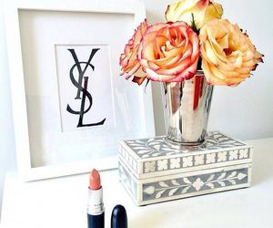 flower, rose, and grunge image