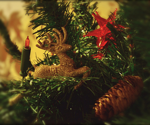 christmas, glitter, and decorations image