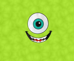 mike, monsters inc, and green image