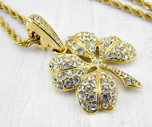 long pendant, good luck jewelry, and high end designer jewelry image
