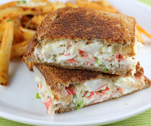 sandwich and fries image