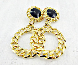 clip on earrings, statement earrings, and high end designer jewelry image