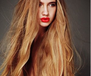 hair, model, and long hair image