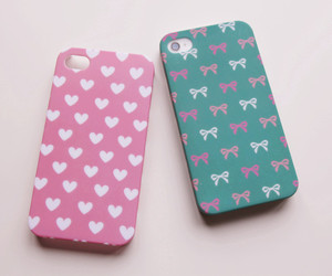 heart, iphone, and iphone case image