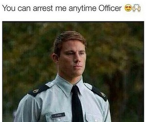 channing tatum, officer, and Hot image