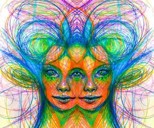acid, colors, and draw image