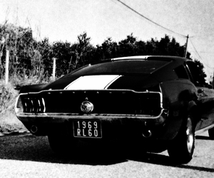argentic, black and white, and car image