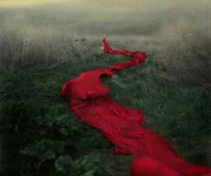 red, fantasy, and photography image