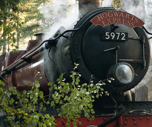 harry potter, hogwarts, and express image