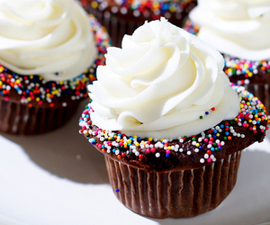 chocolate, colorful, and cupcake image