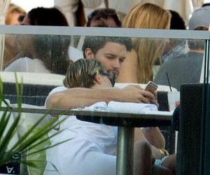miley cyrus and patrick schwarzenegger image