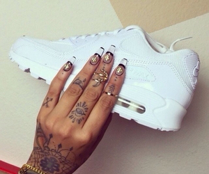 girl, luxury, and nails image