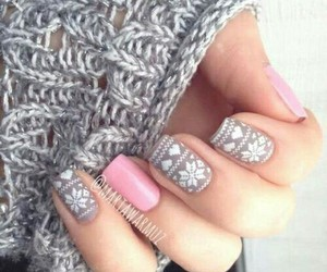 jumper, pullover, and nail image
