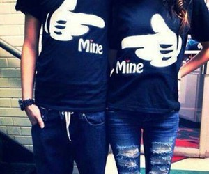 love, mine, and couple image