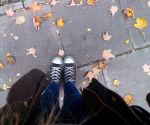 autumn and converse image
