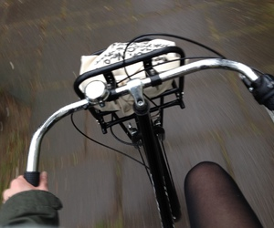 bike, dark, and grunge image