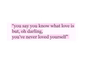 love, insecure, and quote image