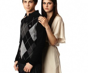 logan lerman and alexandra daddario image