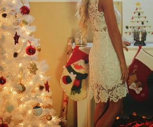 christmas, dress, and fashion image
