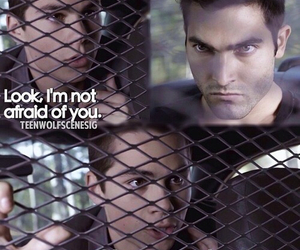 teen wolf, stiles stilinski, and derek hale image