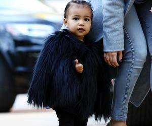 north west, kim kardashian, and baby image