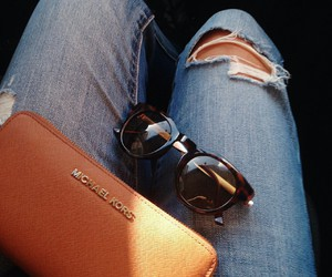 jeans and sunglasses image
