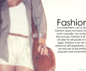 fashion quote, outfit, and fashion image