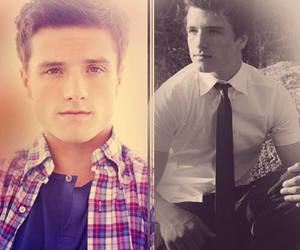 Hot, tie, and josh hutcherson image