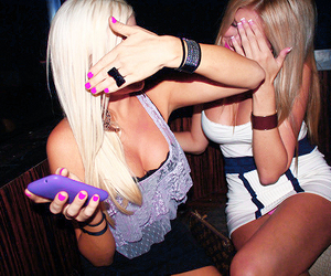 blondes, girls, and pink image