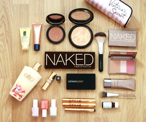 beauty, make up, and victorias secret image