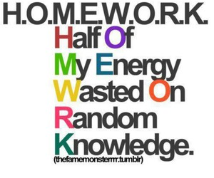 homework, quotes, and school image