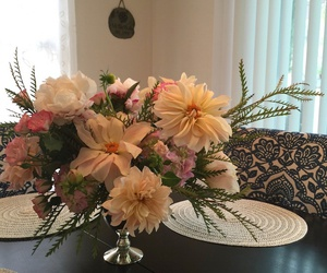 dahlias, fall, and floral design image