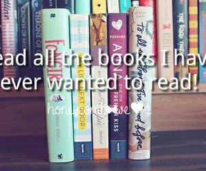books, girl, and pink image