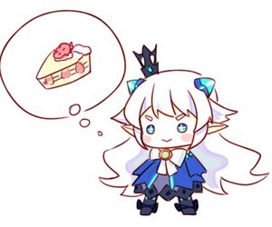 elsword, cute, and luciel image