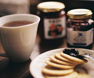 tea, food, and vintage image