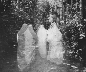 dark and ghost image