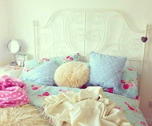 home, home sweet home, and bed image