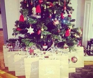 christmas, louboutin, and luxury image