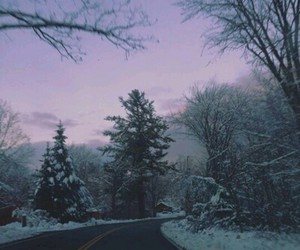 snow, love, and grunge image