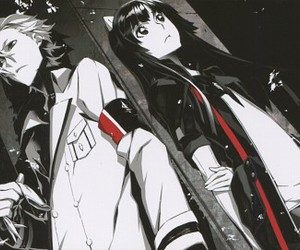 daryl, tsugumi, and guilty crown image