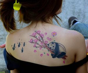 tattoo and panda image