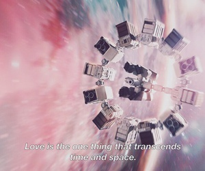 love, space, and time image