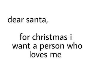 love, christmas, and santa image