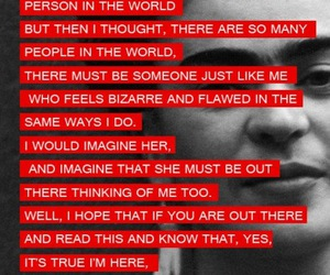 frida kahlo, quote, and strange image
