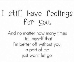 love, feelings, and quotes image