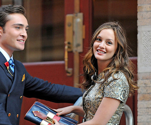 gossip girl, chuck bass, and blair image