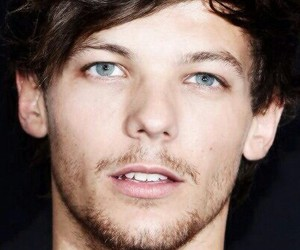 celebrity, larry, and louis tomlinson image