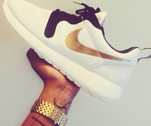 nike, white, and black image